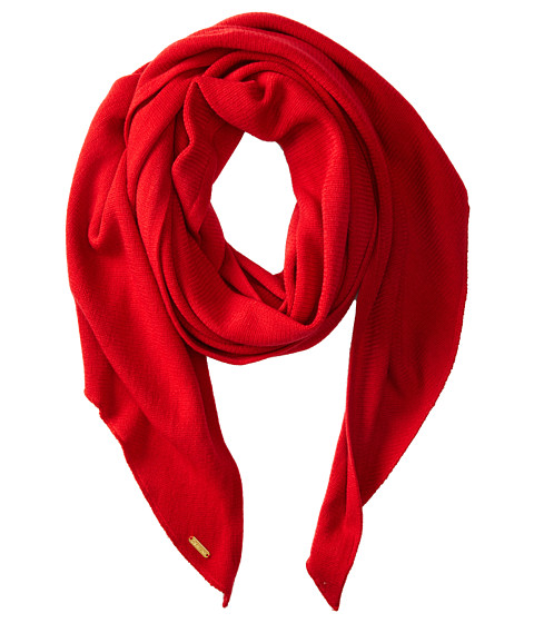 Calvin Klein - Angled Edge Scarf (Rouge) Scarves