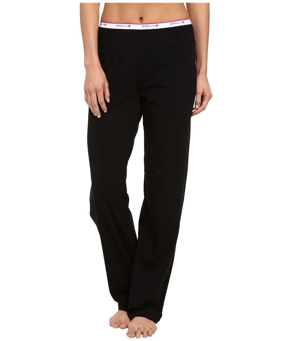 BCBGeneration - Jessa The Uniform Pant (Black) Women's Pajama