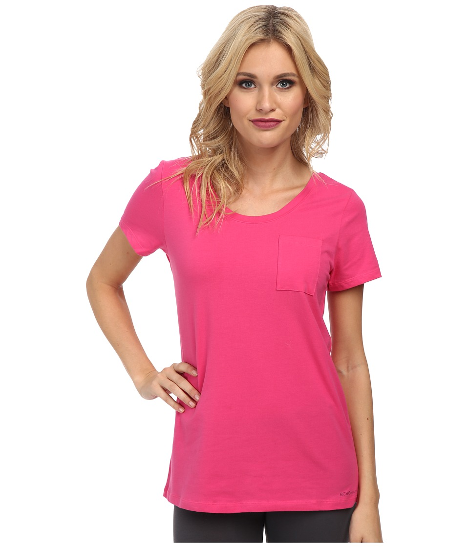 BCBGeneration - Jessa The Who Are You Wearing T-Shirt (Fuchsia) Women's T Shirt