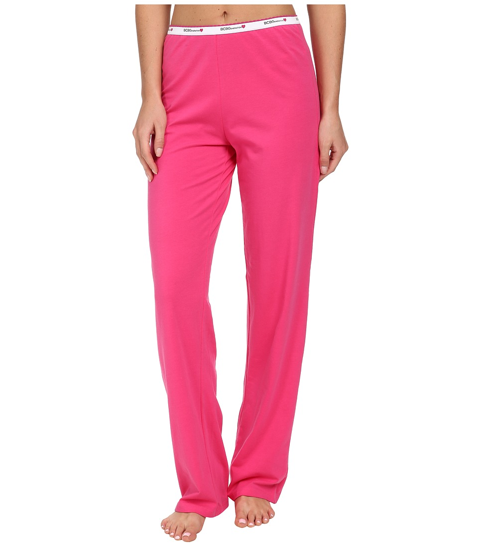 BCBGeneration - Jessa The Uniform Pant (Fuchsia) Women's Pajama