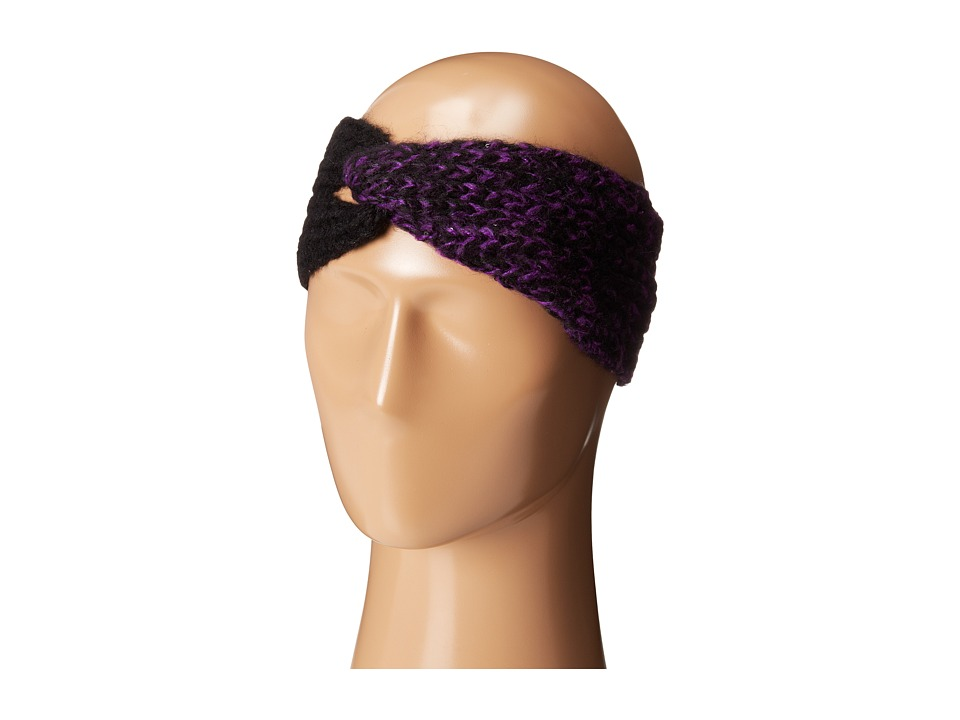 Calvin Klein - Color Block Sequin Headband (Violet) Headband