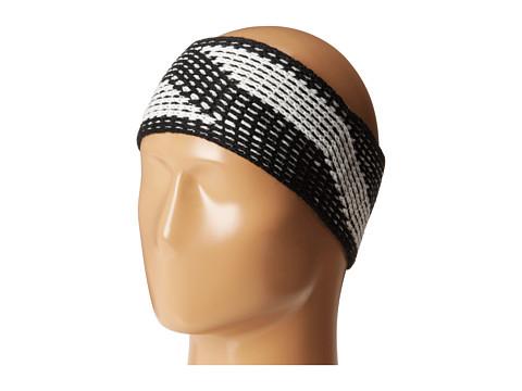 Calvin Klein - Faux Cable Headband (Black/Creme) Headband