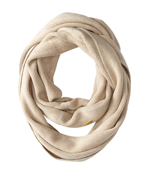 Calvin Klein - Soft Acrylic Infinity (Heathered Almond) Scarves