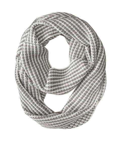 Calvin Klein - Faux Cable Infinity (Heathered Mid Gray) Scarves