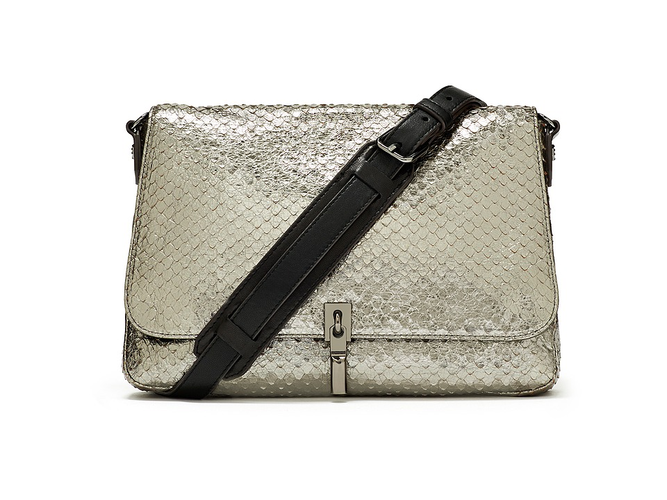 Elizabeth and James - Cynnie Mini Crossbody (Anthracite) Cross Body Handbags