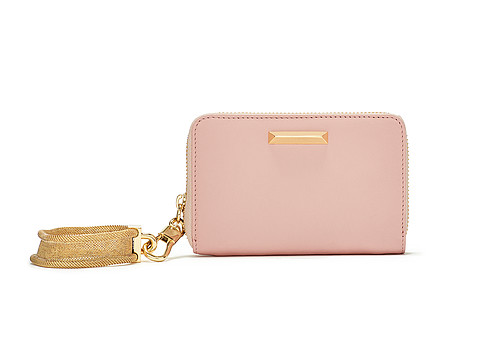 Elizabeth and James - Pyramid Smart Phone Bracelet Wallet (Pink Beach) Wallet Handbags