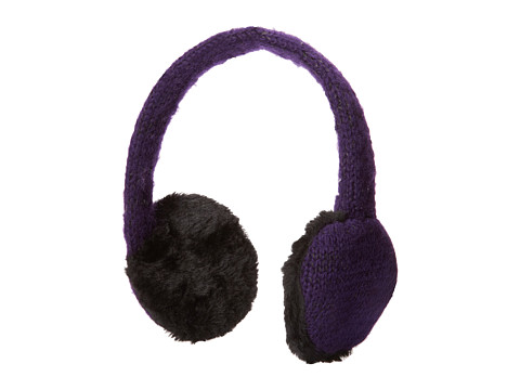 Calvin Klein - Marled Sequin Earmuff Headphones (Deep Purple) Headphones