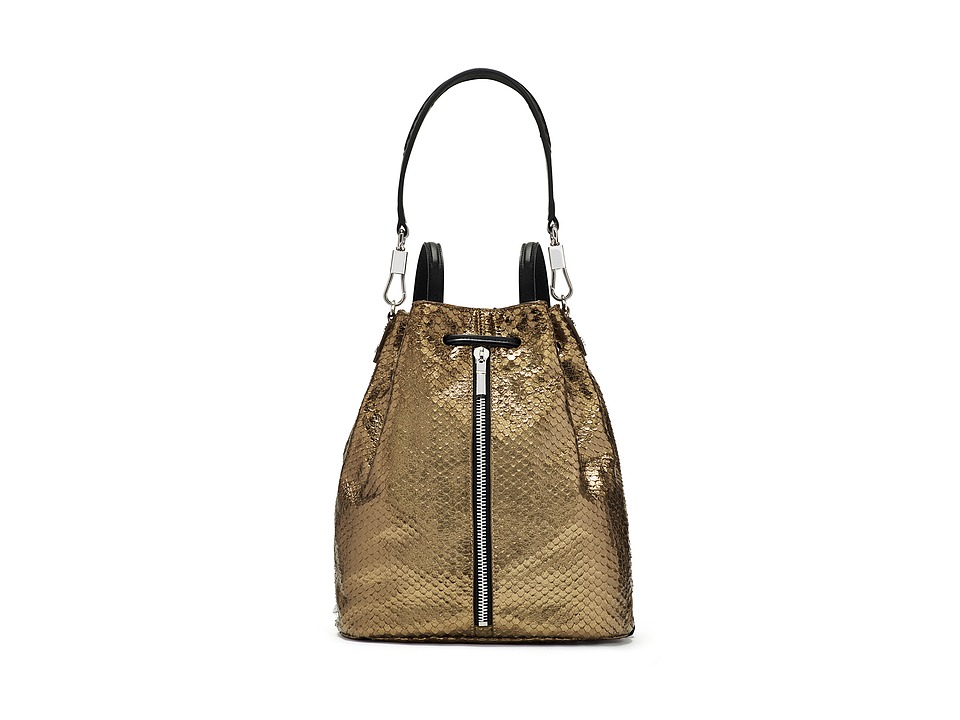 Elizabeth and James - Cynnie Large Sling Bag (Bronze) Handbags