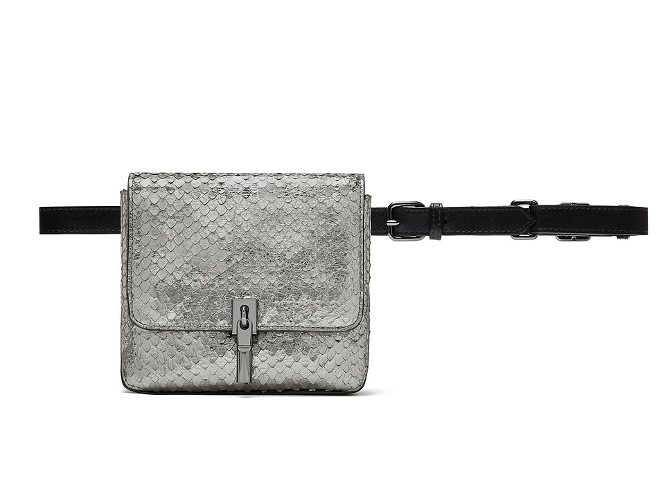 Elizabeth and James - Cynnie Belt Bag (Anthracite) Handbags