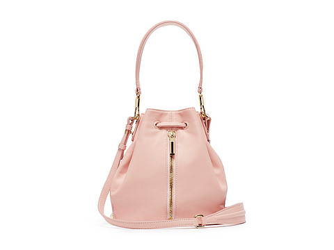 Elizabeth and James - Cynnie Mini Bucket Bag (Pink Beach) Cross Body Handbags