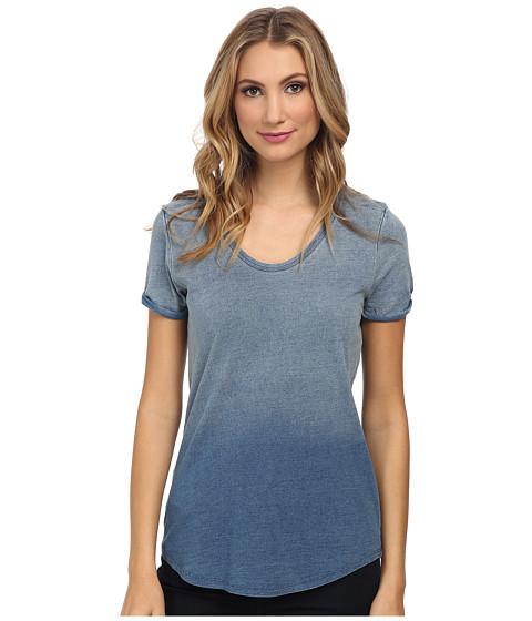 LAmade - Jordan S/S Scoop Tee (Vintage Indigo) Women's T Shirt