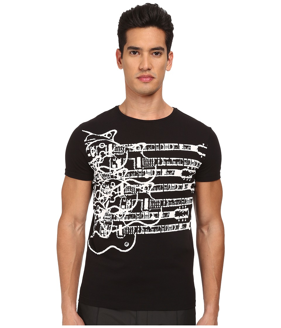 CoSTUME NATIONAL - Printed T-Shirt (Black) Men