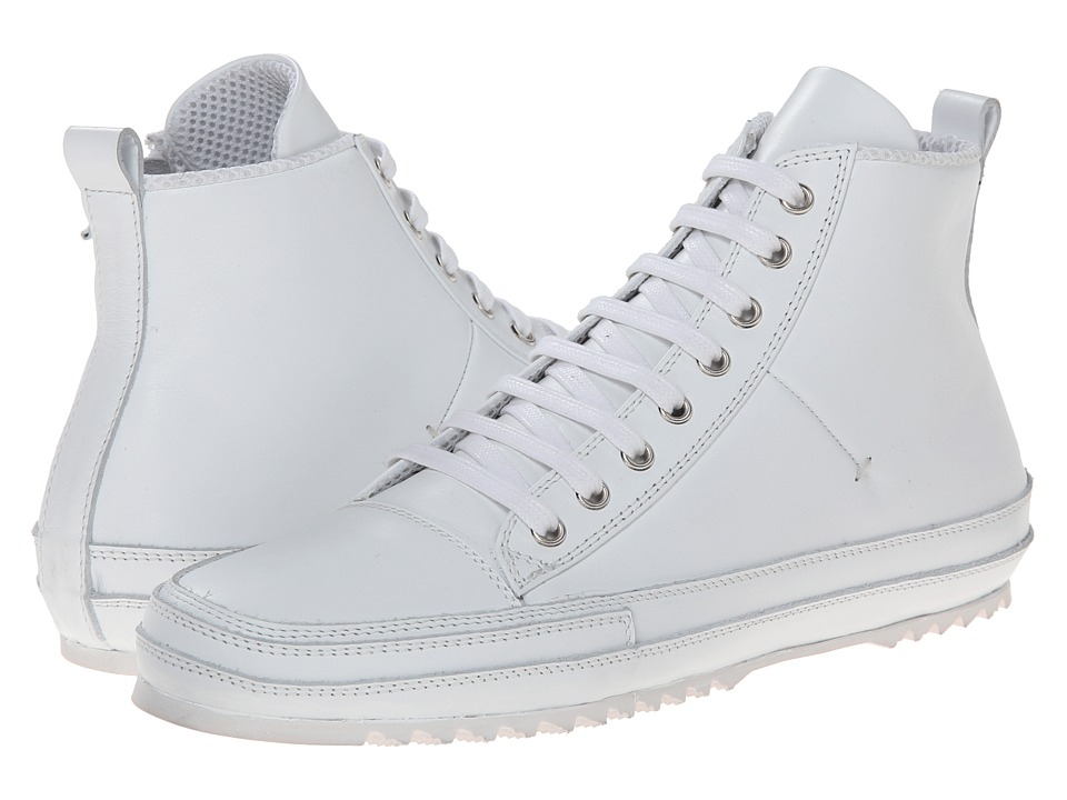 CoSTUME NATIONAL - High Top Sneaker (White) Men