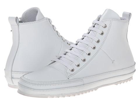 CoSTUME NATIONAL - High Top Sneaker (White) Men