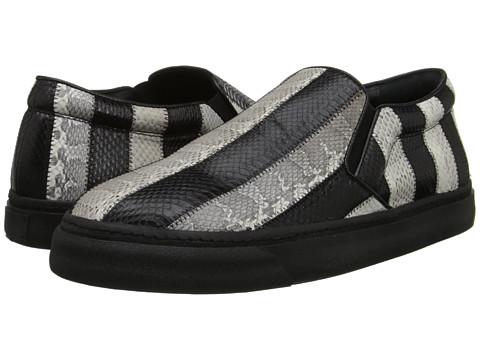 CoSTUME NATIONAL - Slip on Sneaker (Black/White) Men