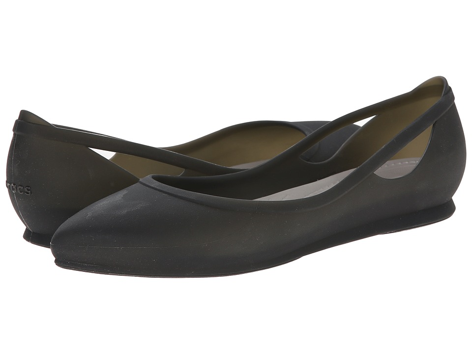 Crocs Crocs Rio Flat (Black/Platinum) Women