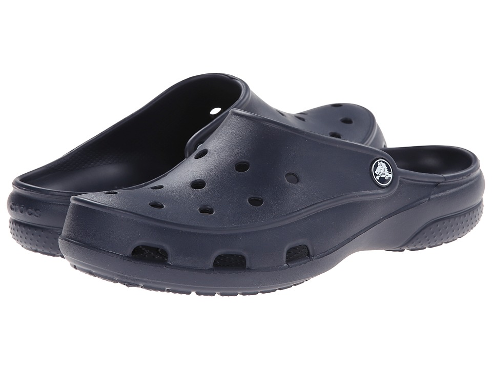 Crocs - Freesail Clog (Navy) Women's Clog/Mule Shoes