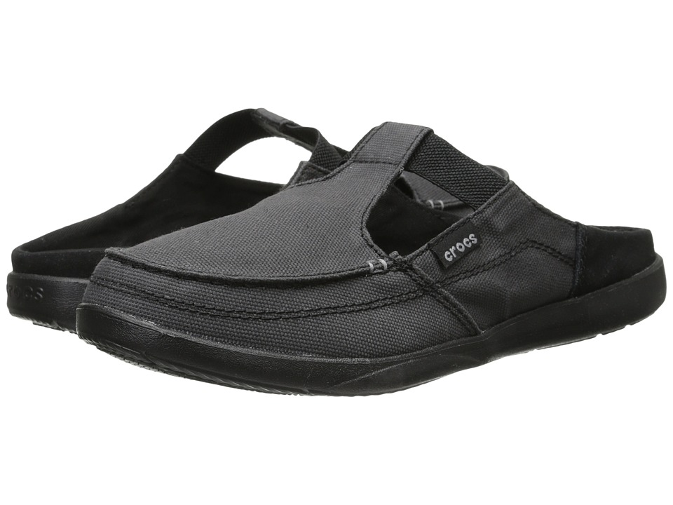 Crocs - Walu Mule Shecon (Black/Black) Women's Clog/Mule Shoes