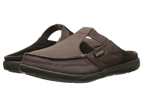 Crocs - Walu Mule Shecon (Espresso/Espresso) Women's Clog/Mule Shoes