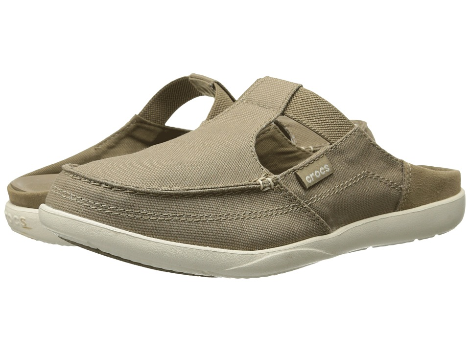 Crocs - Walu Mule Shecon (Khaki/Stucco) Women's Clog/Mule Shoes