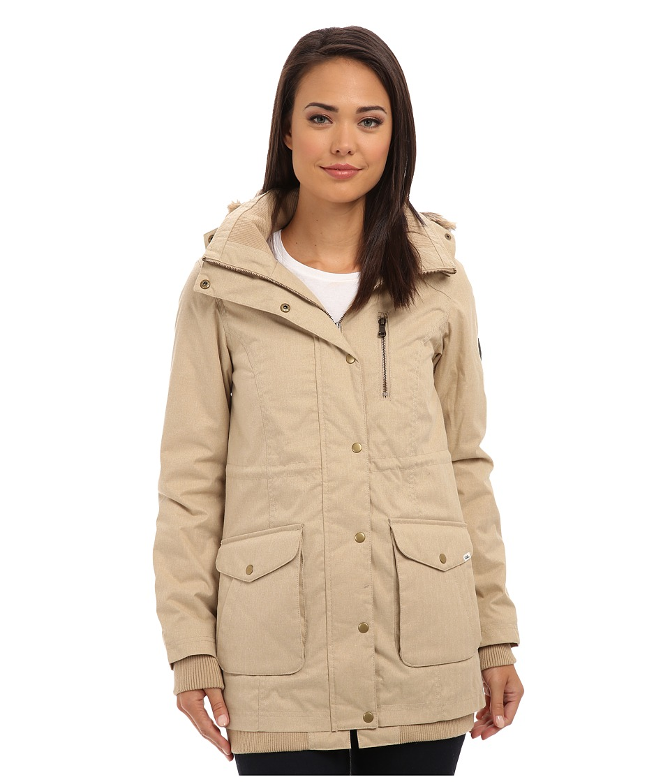 Vans - Cadet Parka (Heather Khaki) Women's Coat