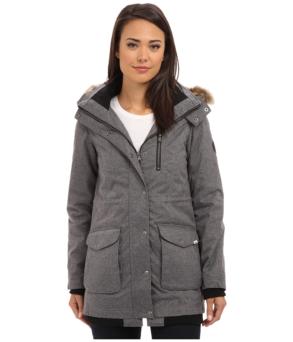 Vans - Cadet Parka (Heather Black) Women's Coat
