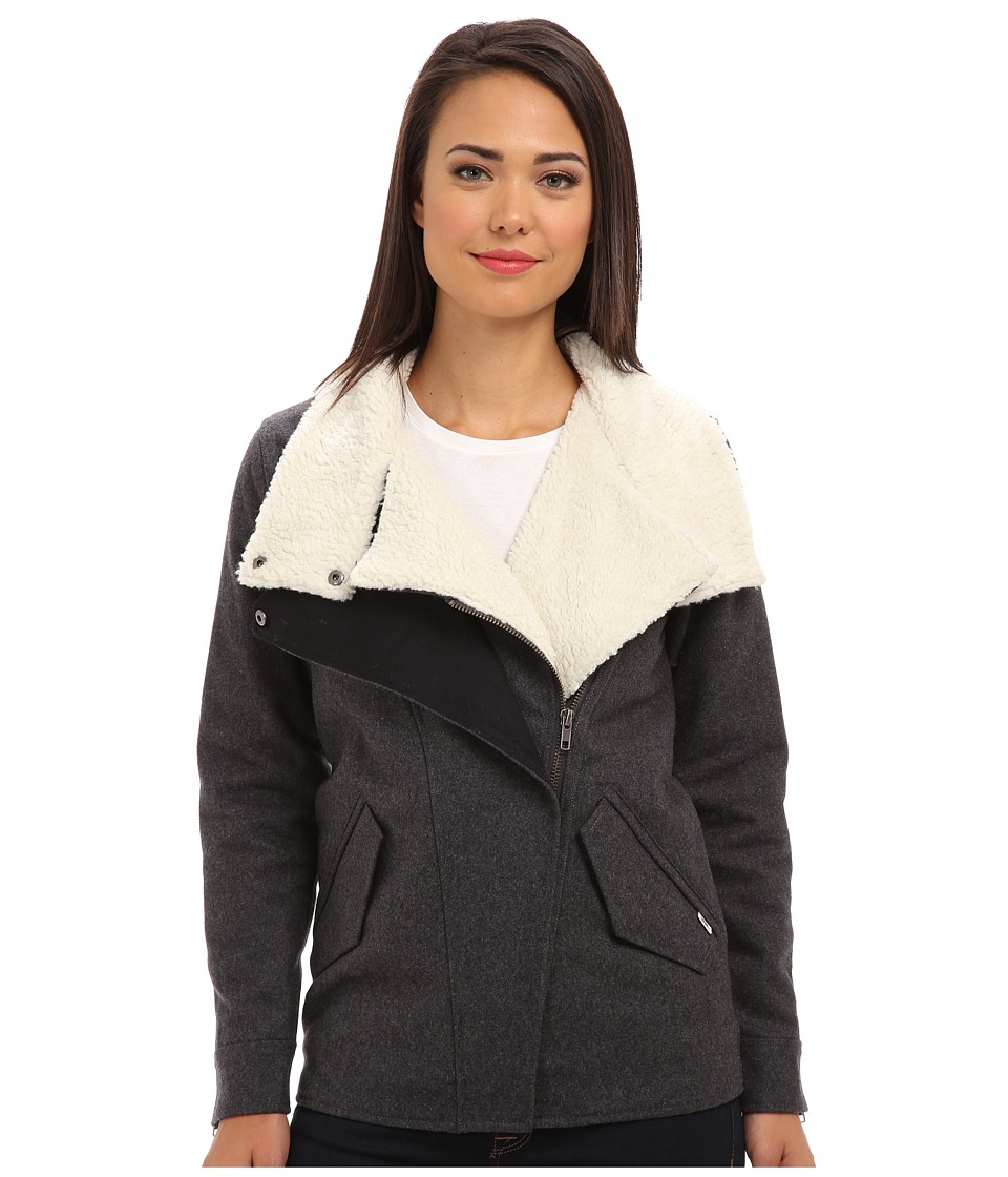 Vans - Merser Jacket (New Charcoal Heather) Women's Coat