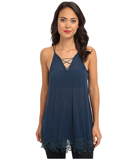 Free People - Wicked Spell Top (Deep Turquoise) Women's Clothing