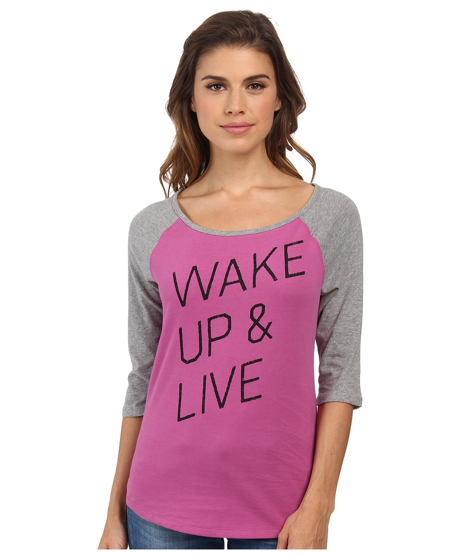 Life is Good Sandlot Sleep Tee (Fresh Raspberry) Women