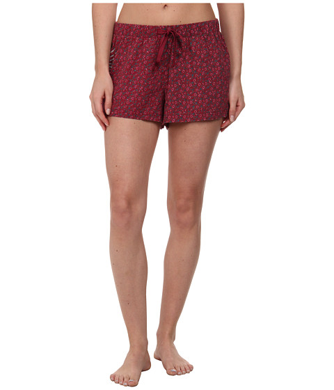 Life is good - Sleep Boxer (Wild Cherry Ditsy Floral) Women's Pajama