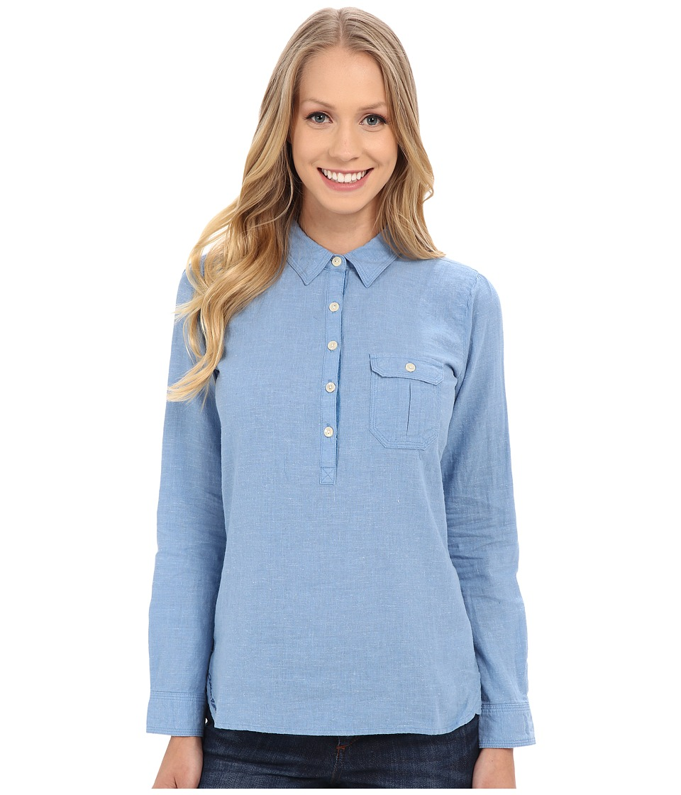 Outdoor Research - Coralie L/S Shirt (Cornflower) Women's Long Sleeve Pullover