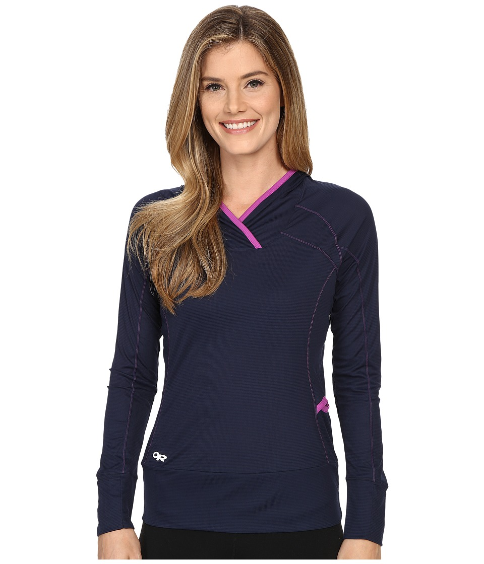 Outdoor Research - Echo Hoody (Night/Ultraviolet) Women's Sweatshirt