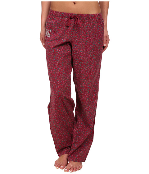 Life is good - Sleep Pants (Wild Cherry Ditsy Floral) Women