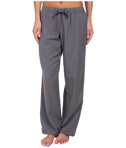 Life is good - Sleep Pants (Smoky Grey Stripe) Women