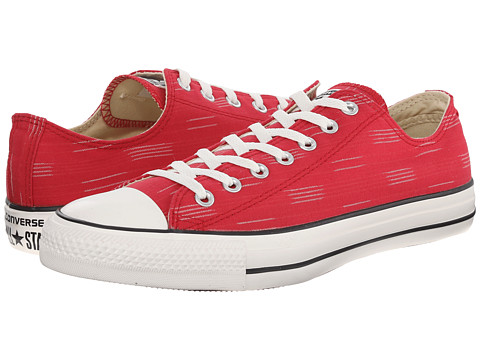 Converse - Chuck Taylor All Star Striped Canvas Ox (Days Ahead/Casino/Egret) Athletic Shoes