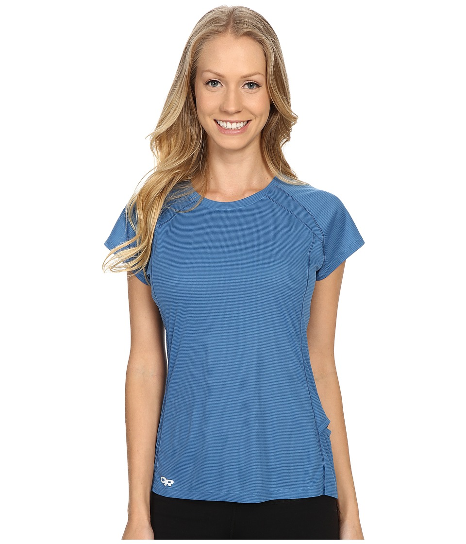 Outdoor Research - Echo S/S Tee (Cornflower/Night) Women's Clothing