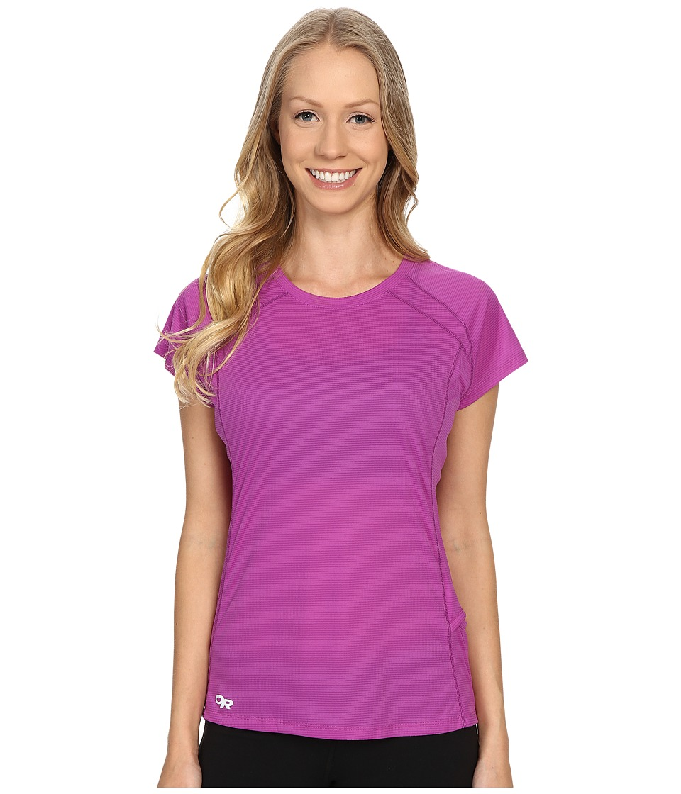 Outdoor Research - Echo S/S Tee (Ultraviolet/Elderberry) Women's Clothing