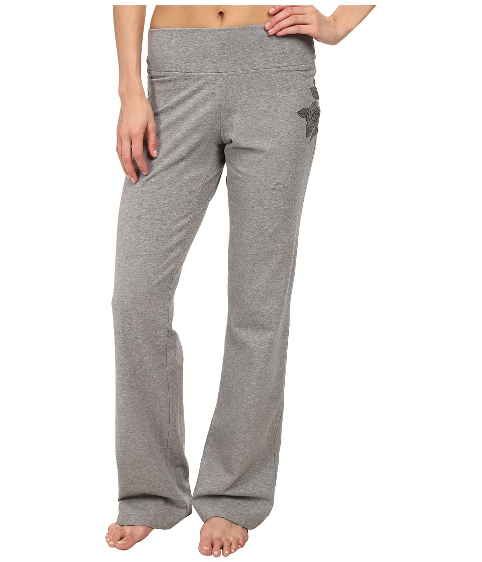 Life is good - Sueded Sleep Pants (Heather Grey) Women's Pajama