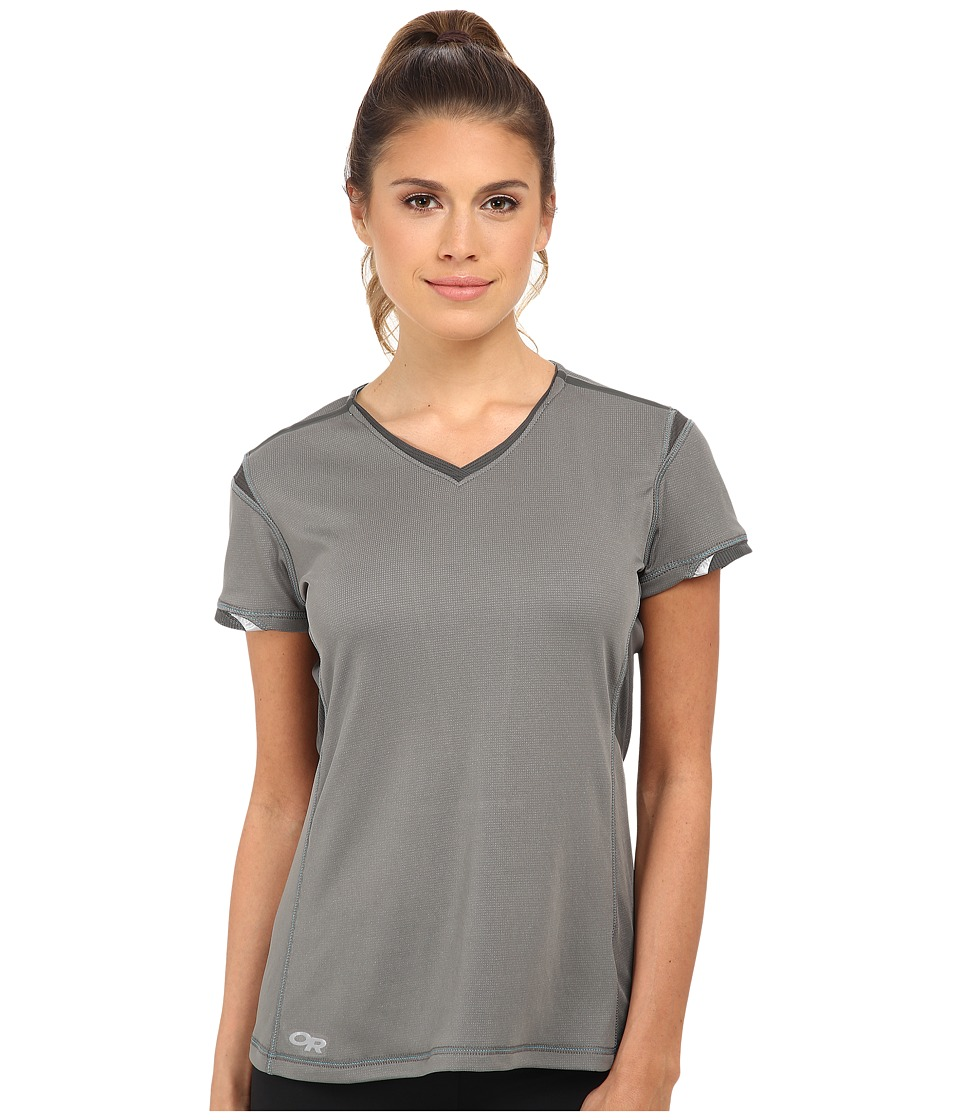 Outdoor Research - Octane S/S Tee (Pewter/Charcoal) Women's Short Sleeve Pullover