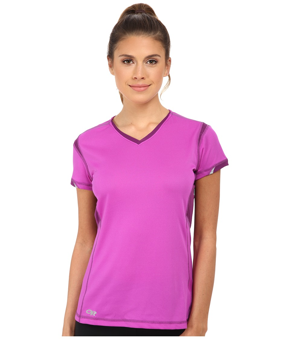 Outdoor Research - Octane S/S Tee (Ultraviolet) Women's Short Sleeve Pullover