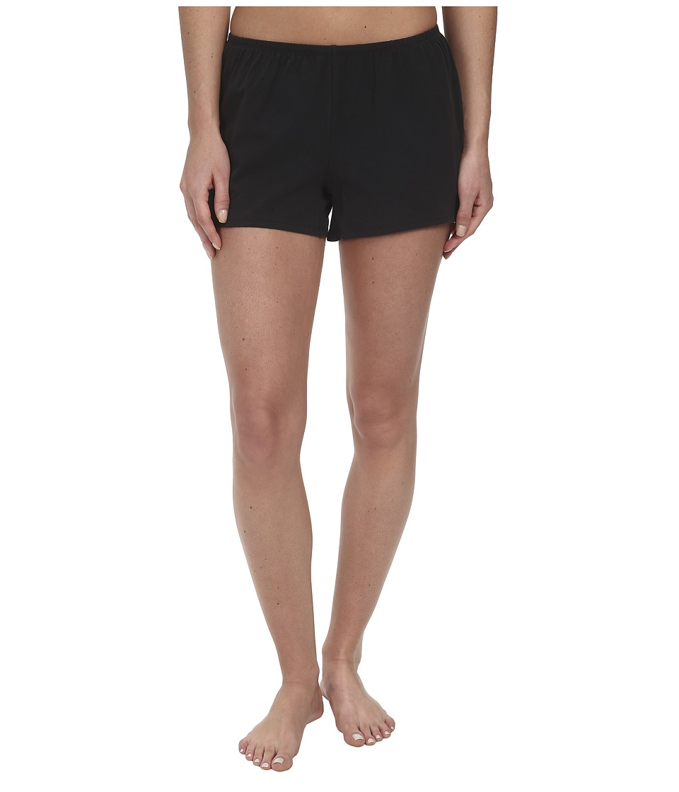 Life is good - Sweetheart Sleep Shorts (Night Black) Women