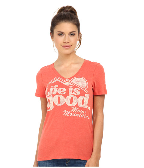 Life is good - Cool Vee (Chili Red) Women