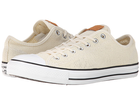 Converse - Chuck Taylor All Star Summer Woven Ox (Natural/White/Acorn) Shoes