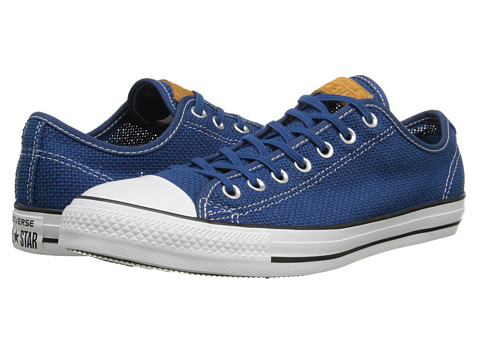 Converse - Chuck Taylor All Star Summer Woven Ox (Midnight Hour/White/Acorn) Shoes