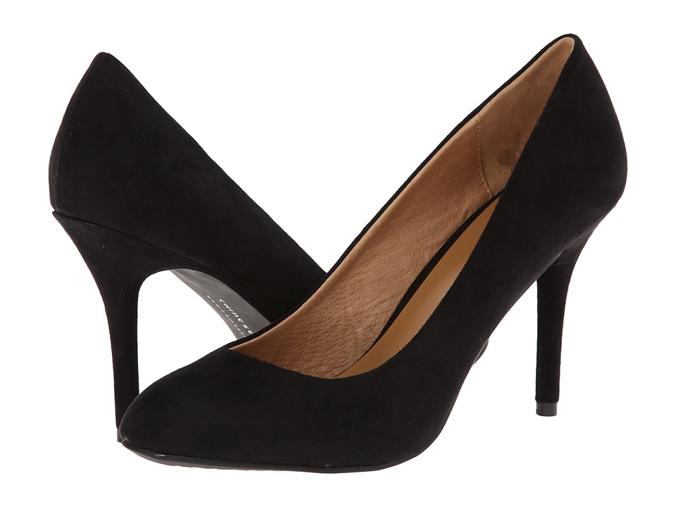 Chinese Laundry - Palace (Black Micro Suede) High Heels