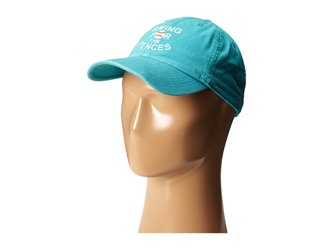 Life is good Kids - Swing for the Fences Chill Cap (Toddler/Little Kids/Big Kids) (Teal Blue) Caps