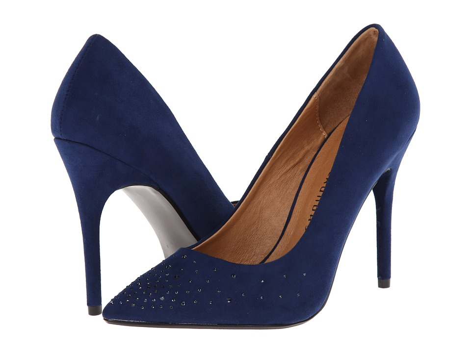 Chinese Laundry Nala (Bright Navy Micro Suede) High Heels