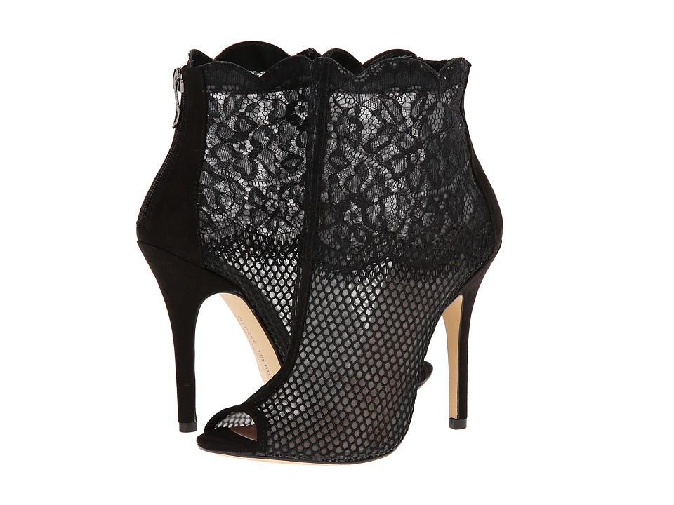 Chinese Laundry - Jeopardy (Black Mesh) High Heels