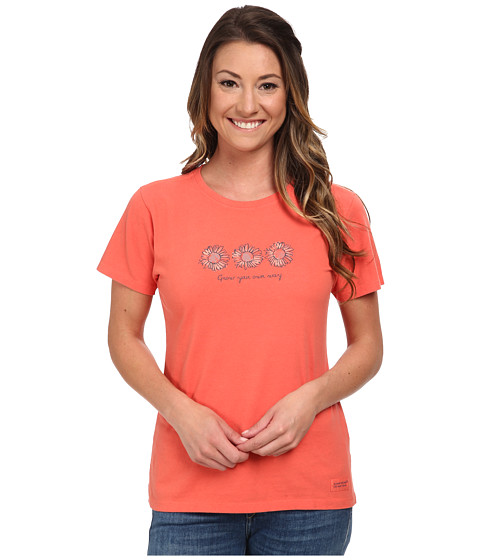 Life is good - Watercolor Your Way Crusher Tee (Chili Red) Women