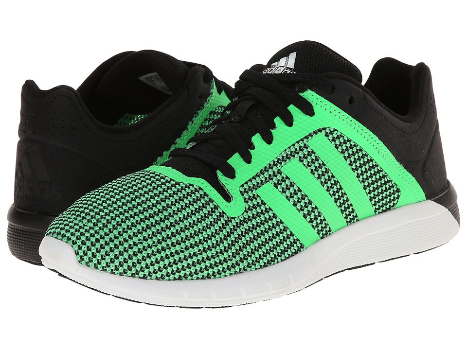 adidas Kids - CC Fresh 2 K (Little Kid/Big Kid) (Flash Green/Flash Green/Black) Boys Shoes